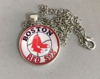 Boston Red Sox MLB Necklace Pendant