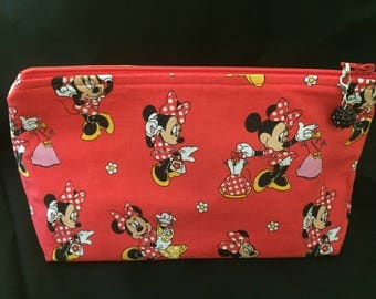 Minnie Mouse Zippered Pouch