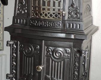 DANISH MORSE 1905, Rare model 46,  FIREPLACE