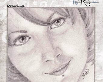Professional Realistic Graphite Pencil Drawings
