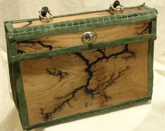 Lichtenberg Handmade Purse Made to Order