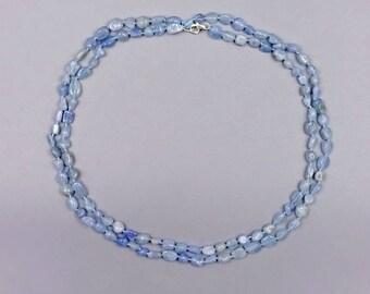 """40"""" Aquamarine Necklace"""