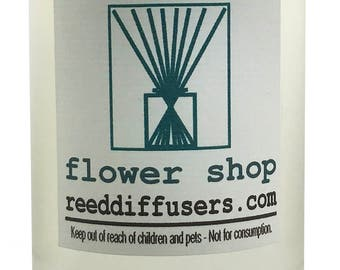 8 oz Flower Shop Fragrance Reed Diffuser Oil Refill - Made in the USA