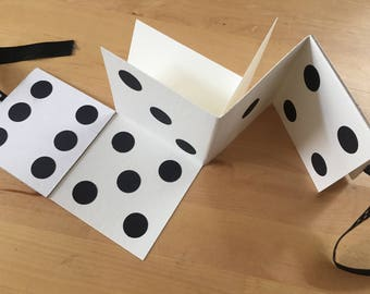 Dice maze book--great for bunco or gamers