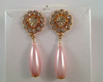 Light pink Drop earring