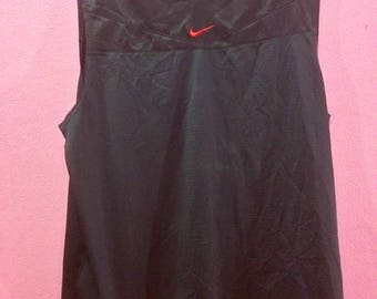 Rare Nike Swoosh sphere dry tank top Nice Design XL size