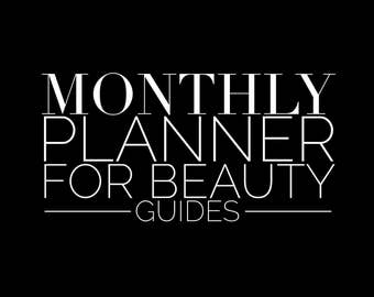Beauty Guide Planner