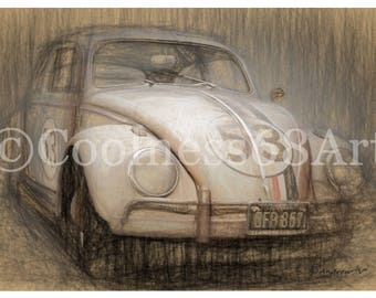 The Love Bug Original Art Print