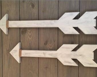 Rustic Wooden Arrows (set of 2)