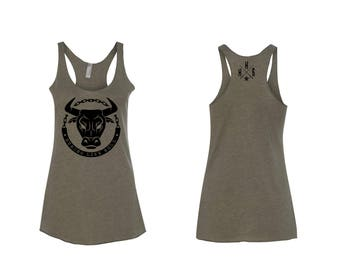 Strong Like Bull Tank Top CrossFit HH6 Strong Lift Heavy