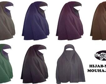 hijab niqab option withe