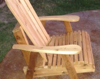 Cedar rocking chairs