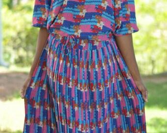 Aztec Inspired skirt set
