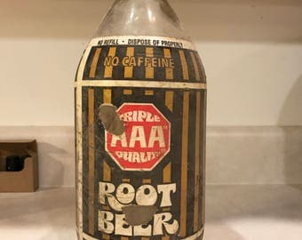 64 oz Root Beer Growler by Triple AAA