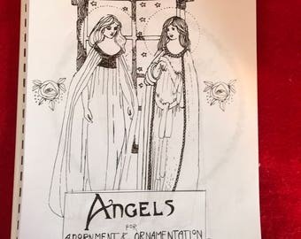Angels coloring book 50 designs for adornment and Ornamentation
