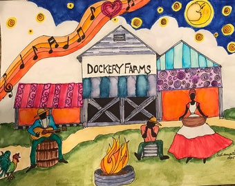 Blues art: Showtime at the Dockery