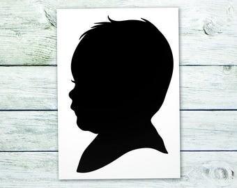 Example of Custom Baby Portrait