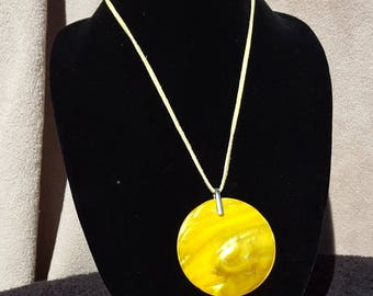 Statement jewelry,  hippie jewelry, Yellow Jewelry,