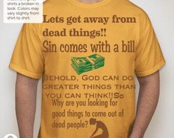 Land of Promise Luke 24:5 T-shirt