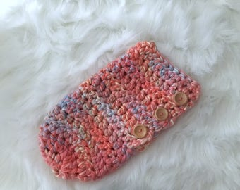 Baby Cocoon, Newborn Cocoon, Baby Snugly, Crochet Baby Cocoon, Photography Prop,  Baby Girls, Button Cocoon, Baby Girl Gift,Baby Shower Gift