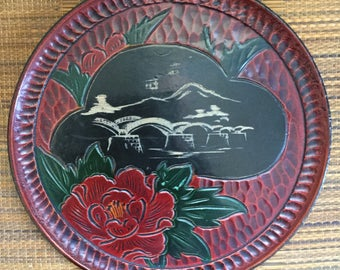 A Japanese carving on wood