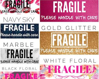 Fragile Labels Digital Downloadable Files