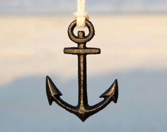 Anchor ornament | Etsy