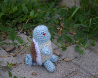 Crocheted Squirtle Plushie