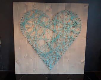String Art heart or star