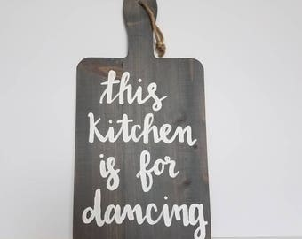 This kitchen is for dancing kitchen decor