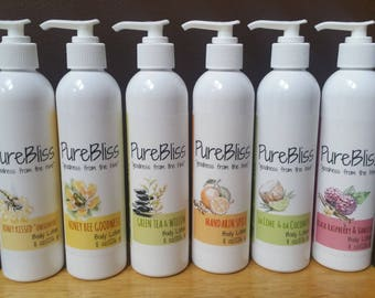 PureBliss Honey Lotions - 4 oz and 8 oz