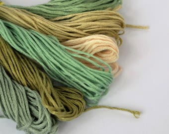Sets of Embroidery or Cross Stitch Skeins / Floss / Thread - 6 in each set