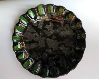 Handmade  bowl in black