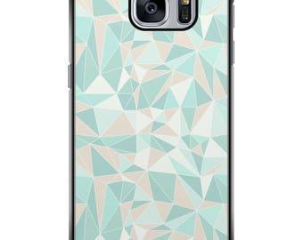 Shell Galaxy S5/S6/S7/S8 geometric 001 black edges