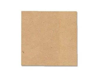"40 - MDF Squares Shapes 1"" - 4"" width/length 1/4"" - 3/4"" Thick Custom Size Made to Order in USA"
