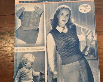 November 1949 Womens Weekly