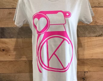 KC Women's Tee Shirt- Pull the Pin Spread the Love