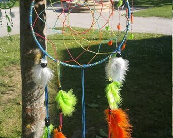 Colorful traditional dream catcher
