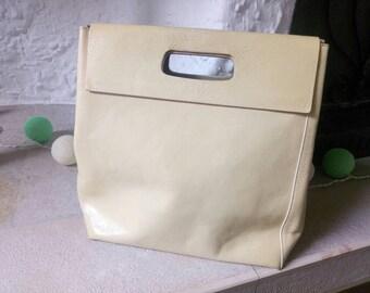 Furla Top Handle Bag #shopper #cream