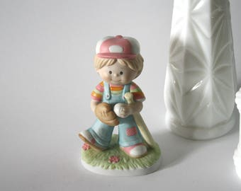 Little Baseball Player Keepsake Cremation Urn