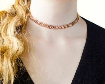 Birthday Gift|for|Her Womens Gift|for|Girlfriend Golden Jewelry 18 k Gold Plated Necklace Golden Chain Chokers Fashion Gift|for|Woman