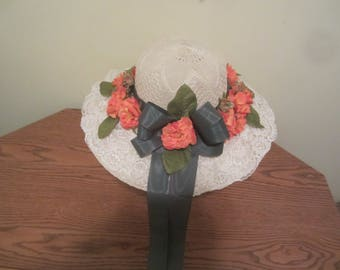 Hand Decorated Hat