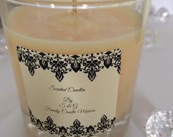 Hand Made Soya Candles - Pomegranate Noir