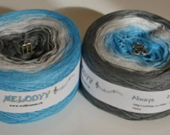 Wolltraum 'Always' 3 Ply Gradient Yarn