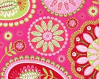 Gypsy Bandana Paisley Cotton Fabric - Pillow & Maxfield Fabric- Michael Miller Fabric