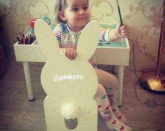 kids chair bunny