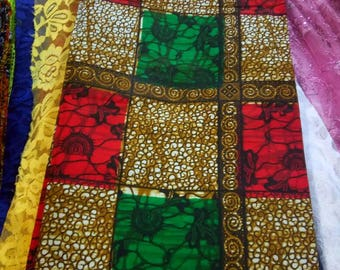 3Yards Patchwork kitenge Fabrics