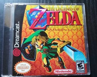 Custom Dreamcast Game ( The legend of Zelda Collection )