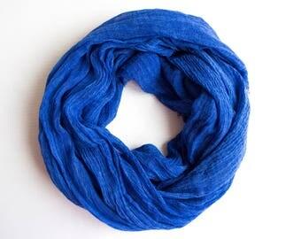 Royal Blue Shawl, Spring Shawl, Elegance Shawl, Woman Fashion, Gift Ideas