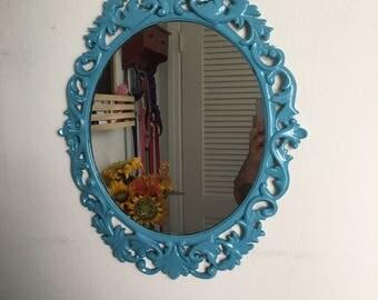 Upcycled Vintage Looking Mirror